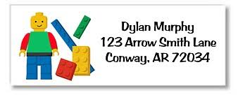 lego return address labels