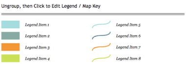 what is a map legend add a map legend map key mapdiva