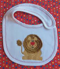 halloween baby bibs lion embroidered baby bib newborn gift baby shower gift boys