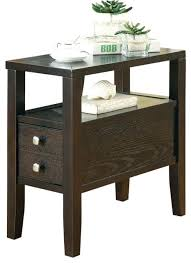 side table chair side table home storage finish espresso with