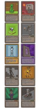 minecraft cards minecraft pixel card idea minecraft