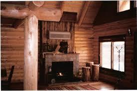 small log home interiors allstott rock creek lodge cabins