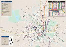 map of berks county pa transit maps barta reading pa