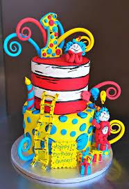 dr seuss 1st birthday dr suess birthday cakes reha cake