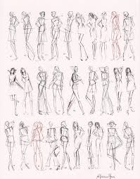 156 best croquis to try images on pinterest fashion
