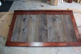 Wood Head And Footboards Barnwood Bed Project Buildsomething Com