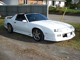1991 camaro rs t top 1991 1992 pearl white 305 tpi z28 camaro 1le t top for sale