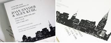 wedding invitations nyc v76 our muse classic new york city wedding joan alex part 1