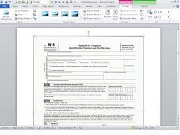 a quick word trick for typing text into a scanned document