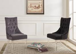 Contemporary Tufted Sofa by Armen Living Gobi Modern U0026 Contemporary Tufted Dining Chair In