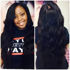 sew in microlink hair fusion and beaded sew in salon miami ft