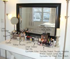 Organizing Makeup Vanity Makeup Vanity With Jewelry Storage Home Vanity Decoration
