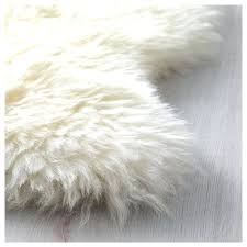 Fur Runner Rug Faux Sheepskin Rug Runner Faux Fur Floor Runner Sheepskin Runner