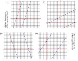 straight line graphs part 3 parallel and perpendicular lines