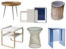 all modern side tables 6 modern side tables for the entertaining season design trend