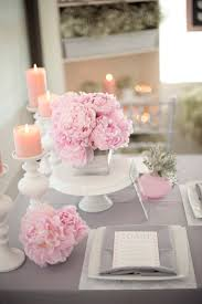 table decorations for wedding decorating ideas astonishing pink and white wedding decoration