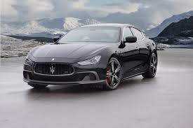 maserati black 4 door maserati ghibli receives the mansory tuning treatment