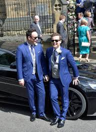 declan donnelly and ali astall wedding the groom and best man ant