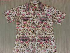 Tiki Hut Austin Vintage Hawaiian Shirt Nui Nalu 70s Aloha Surfer Shirt Enchanted