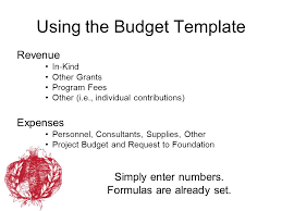 covenant foundation full proposal budget ppt video online download