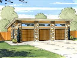 modern garage plans 3 car garage plans modern three car garage plan design 050g