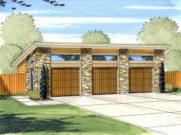 3 car garage plans modern three car garage plan design 050g