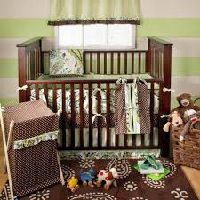 Kids Bedroom Furniture Collections Bedroom Design Beautiful Brown Dots Crib Blankets Baby Boys