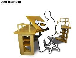 Corner Drafting Table Monitor Arm Solutions Tr Forums