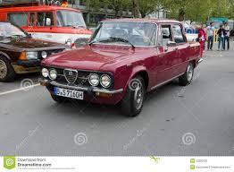 vintage alfa romeo giulia vintage italian car alfa romeo giulia editorial photography