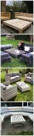 Pallet Furniture Patio by 431 Best Pallet Furniture Images On Pinterest Pallet Ideas Wood