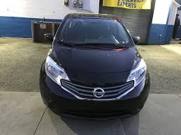 2016 nissan versa blue used 2016 nissan versa sv hatchback 9 690 00