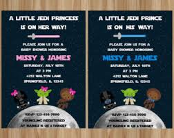 wars baby shower ideas wars baby shower invites themesflip