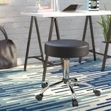 bar stool with wheels wayfair