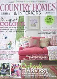 country home and interiors magazine zigzag bunting in the media