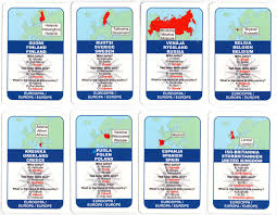 World Flags Quiz World Tour The World Of Playing Cards