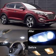 hyundai tucson kit xenon white led interior kit license light led for hyundai