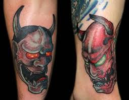 best hannya mask tattoo designs tattooshunter com