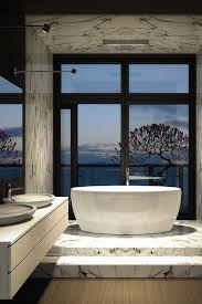Luxury Bathroom Vanities by Bathroom Luxury Bathroom Design With White Freestanding Bathtub