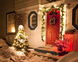 New Year Home Decoration Ideas Home Decor Christmas Decorating Ideas Tree Market Lit Wreath And
