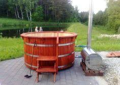 Wood Fired Bathtub Outdoor Saunas Outdoor Sauna And Gardens