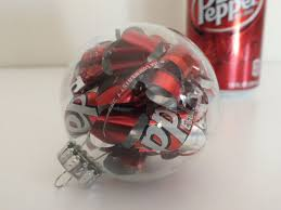 recycled can ornament diy craft