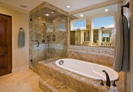 Corner Tub Bathroom Designs by Bathroom Black Freestanding Tub Bathroom Mirror Ceiling Light