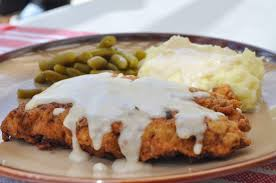 freeing my martha chicken fried steak with country gravy