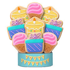 cookie arrangements smiley pot cookie bouquet grand cookie bouquet cookie