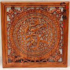 living room chor wood carving pendant ornaments hanging wall of