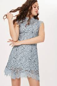 dress pic lace mini flare dress topshop europe