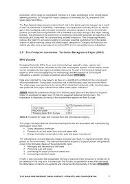 carbon impacts of paper manufacture literature review by rmit