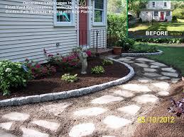 Landscaping Ideas For Front Yard Door Design Garden Attractive Yard Landscaping Decoration Using
