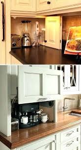 kitchen appliance ideas kitchen appliance garage kitchen design idea store your kitchen