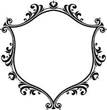 clipart decorative ornamental flourish frame aggrandized 17